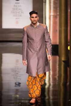 By Designer JJ Valaya. Shop for your  wedding trousseau, with a personal shopper & stylist in India - Bridelan, visit our website www.bridelan.com #Bridelan #Indiangroom