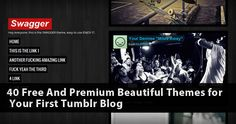 40 Free And Premium Beautiful Themes for Tumblr