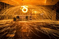 Come fotografare le cascate di fuoco (steel wool photography)
