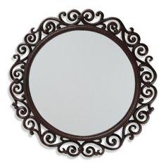 Résultats Google Recherche d'images correspondant à http://www.xinxincrafts.com/wp-content/uploads/2012/10/Round-Mirror-with-Cast-Iron-Frame-300x300.jpg