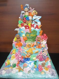 Now that's an underwater cake!