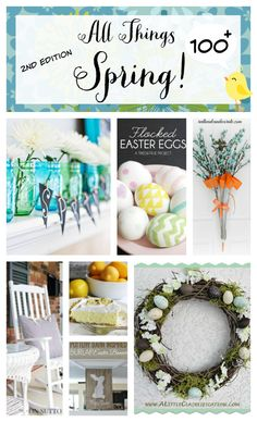 The Second Edition of All Things Spring-over 100 ideas all in one place!