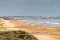 Balmedie Beach in Balmedie, Aberdeenshire