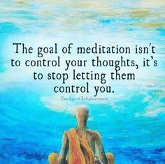Meditation...aka prayer