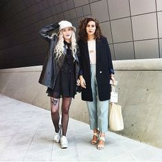 Our girl AJ has been in Korea all week covering Seoul Fashion Week - full report coming soon! #ontheblog #sfw