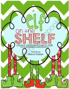 Elf on the Shelf Classroom Fun from Simply Sprout on TeachersNotebook.com (20 pages)  - Have your Elf on the Shelf come to life with this cute and creative kit from simply sprout, daily reports, journal activities and so much more!