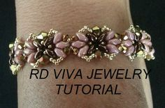 Tutorial-Tampa Bracelet by RDVIVAJEWELRY on Etsy