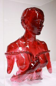 Juxtapoz Magazine - Sculptures Made From Sugar by Joseph Marr Lemon Art, Contemporary Sculpture, Australian Artists, Abstract Sculpture, Red Apple, Erotic Art, Art Dolls, Joseph, Sculpting