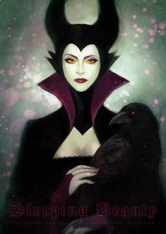Disney Villains by J