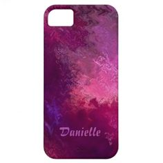 Purple Painted Sky iPhone 5 Cases by MegaCase