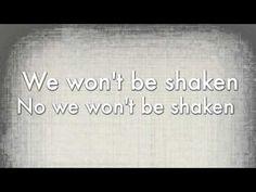 We Won't Be Shaken by Building 429 - No matter what tomorrow brings,,,, No we wont be shakin!!!