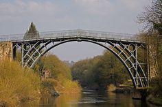 7. The Iron Bridge, River Severn in Shropshire