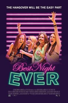 Best Night Ever.  DVD.  Four friends set off to Las Vegas for a one-night bachelorette party that turns out to be a lot more. Getting kicked out of a strip club, being mugged, and more craziness, places them smack dab in Vegas' seedy underbelly. The girls band together and embark on the wildest, out-of-control, blow-out night in bachelorette party history.  LVCCLD