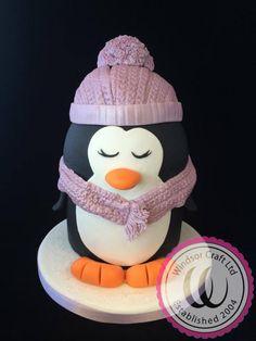 Adorable Penguin Cake by Windsor - Cake by Windsor Craft