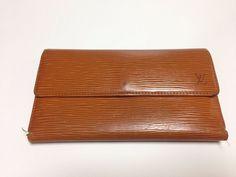 Authentic louis vuitton monogram business card holder lv from japan authentic louis vuitton mandarin epi blown leather trifold long wallet japan colourmoves