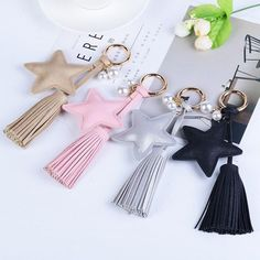 New Creative Key Chains Fashion Keychains Car key Rings Holder Women Bag Charm Pendant Handbag Decoration Jewelry Wholesale Outfit Accessories From Touchy Style Best Engagement Rings, Antique Engagement Rings, Car Key Ring, Diy Keychain, Leather Key, Leather Accessories, Wholesale Jewelry, Luxury Jewelry, Key Rings