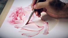 These lessons are for artists who wants to draw roses in watercolor technique and wants to know how to get sensation of smell and moving