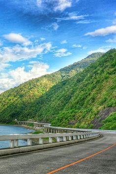 Patapat Viaduct Pagudpud, Ilocos Norte, PHILIPPINES