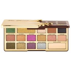 """TOO FACED Chocolate Gold Eyeshadow Palette: """"Love this palette!! The best Too Faced palette and one of the best palettes ever period! This palette is so amazing! The shimmers are creamy and sparkly with little fallout, the mattes are so pigmented and blend like a dream."""" - pandagirl7"""