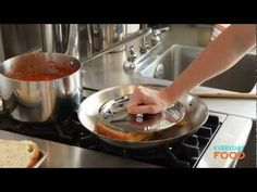 Grilled Cheese and Tomato Soup | Everyday Food with Sarah Carey