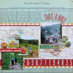 Take a Hike *Simple Scrapper* - Scrapbook.com