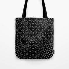Triangles Tote Bag by Errne's Colour Room   Society6