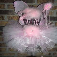 Pin this and follow Pink Castle Design and receive a coupon code for a future purchase!!  Pretty in Pink Princess Tutu/Matching Headband--Dress Up,Fun,Birthday,Party--Fairy,Photo,Fluffy,Soft,Unique-Sweet-Special-Cute-Costume