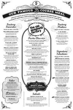 S Vintage Menu Eddie OttS The Tepees Restaurant Denver