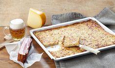 Zwiebelkuchen vom Blech Rezept | Dr. Oetker