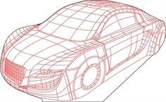 Car 3D illusion vector drawing 3d Illusion Art, Sliceform, 3d Light, Acrylic Plastic, Lampe Led, Plexus Products, Event Decor, Laser Cutting, Laser Engraving