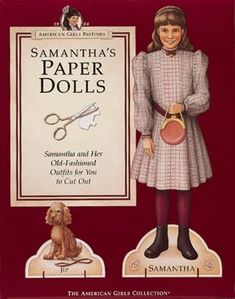 American Girl was developed in the '80s, and is still popular today. But it seemed like the '90s was when everyone had to have a doll. These American Girl paper dolls were another product of the '90s that were rare but fun.