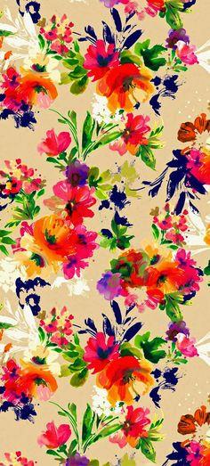 vintage floral