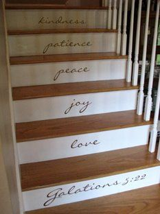 Uppercase your stairs!  http://wendywoodard.uppercaseliving.net  FabULous deal with Buy 2 Get 1 FREE in January!