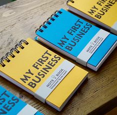 My First Business Notebook for young entrepreneurs available at the Holly & Co Work/Shop. Young Entrepreneurs, Workshop, Notebook, Notes, Business, School, Atelier, Report Cards, Work Shop Garage