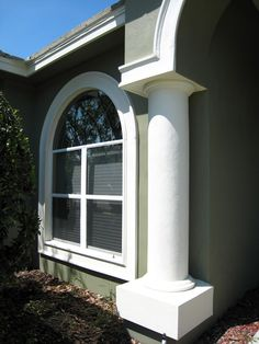 Simple Columns from Styrofoam