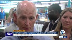 Gov. Scott directs statewide public emergency for opioid epidemic