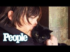 ▶ Norman Reedus Poses with His Cat, and It's Adorable - YouTube That raspy voice!! AND-we WEREN'T just looking at the cat!! ;)