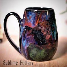 Stellar mug by Amanda Joy Wells of Sublime Pottery Glazes For Pottery, Ceramic Pottery, Mug Cup, Pottery Ideas, Teas, Sculpture Art, Coffee Cups, Tea Time, Dyi