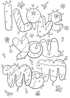 i love you grandma coloring page pre k mothers day coloring pages happy birthday grandma. Black Bedroom Furniture Sets. Home Design Ideas