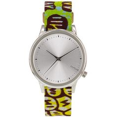 fr aime ces montres en tissu africain wax style ethnique afro tendance tribale african print shades by Vlisco x Komono collaboration. ATELIERVLISCO X KOMONO Casual Watches, Cool Watches, Leather Jewelry, Stainless Steel Case, Quartz Watch, Accessories, Vogue Japan, Watch Women, Brushed Metal