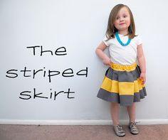 Shwin&Shwin: The Striped Skirt