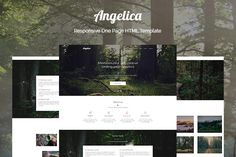 Angelica - One Page HTML Template @creativework247