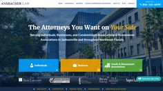 Paperstreet Professional Law Firm Web Design