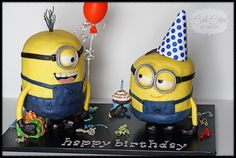 Minions from Despicable Me CAKE!