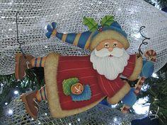 Aplique Papá Noel