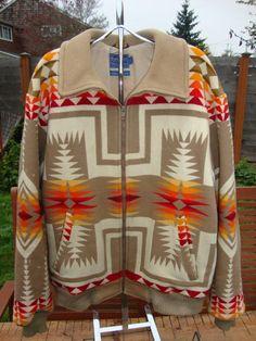 Vintage 70's Pendleton Chief Joseph Aztec Indian by Simplemiles, $120.00