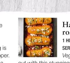 Olive Magazine: - Has­sel­back harissa roast squash Roasted Squash, Squashes, Orzo, Couscous, The Dish, Feta, Recipies, Magazine, Dishes