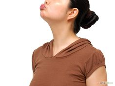"""How to Tighten a Turkey Neck With Facial Yoga. When you think of exercise you probably don't include your neck and your face on list of """"target areas."""" However, learning to tighten a turkey neck with facial yoga and performing these. Tighten Neck Skin, Skin Tightening Mask, Facial Exercises, Saggy Neck Exercises, Jowl Exercises, Facial Yoga, Double Chin, Sagging Skin, Jawline"""