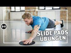 1 Paar Übung Sliding Disc Fitness Gleitpads Core Sliders Ganzkörpertraining