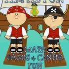 Ahoy Mateys!!! It is time for some pirate fun! Your students will LOVE these 8 pirate themed centers (12 ACTIVITIES IN ALL!) All of these COMMON CO...